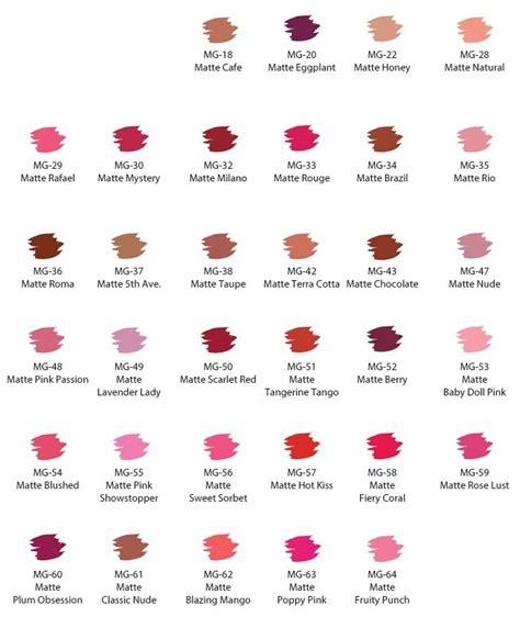 Lipstik Nabi Matte jordana matte lipstick classic makeup