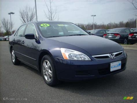 2006 honda accord se 2006 royal blue pearl honda accord se sedan 6321218