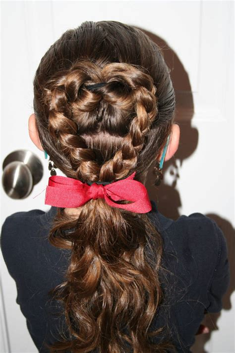 braided hairstyles heart 7 easy valentine s day hairstyles cute girls hairstyles