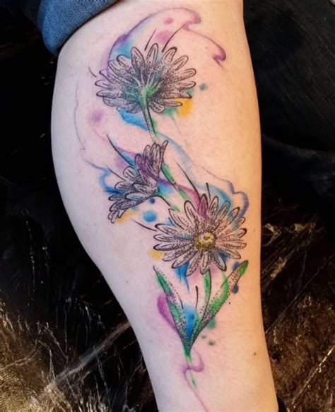 watercolor tattoo flower designs 36 stunning watercolor flower tattoos tattooblend