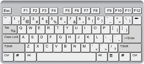 qwerty keyboard layout vector computer keyboard clip art vector images illustrations