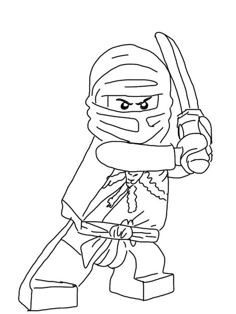 lego coloring pages lego ninjago kai coloring pages kids