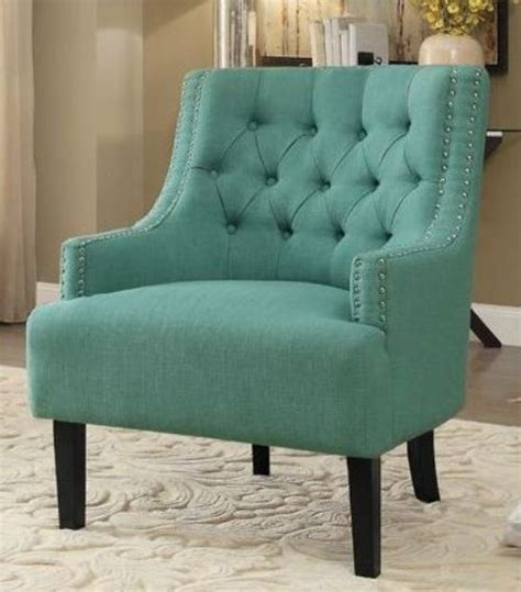 teal accent chair home designs charisma teal accent chair 1194tl homelegance