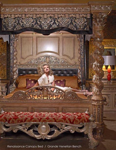 renaissance bed phyllis morris renaissance canopy bed and grande venetian
