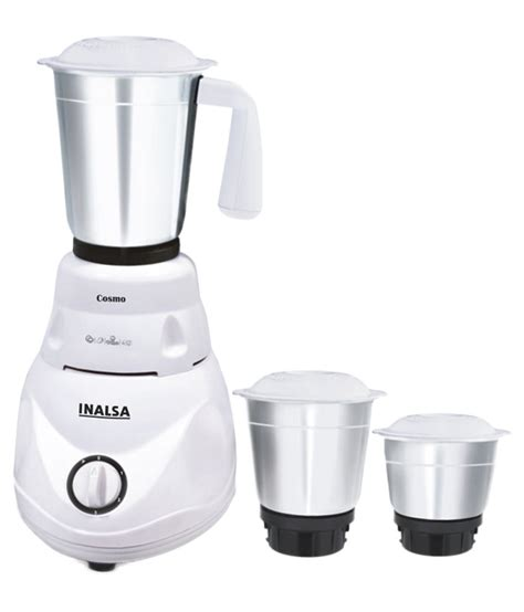 Mixer Cosmos inalsa cosmo mixer grinder ifb white price in india buy inalsa cosmo mixer grinder ifb white