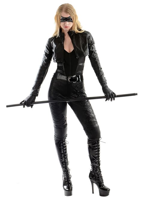 black costume black canary costume
