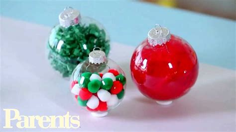 easy homemade christmas ornament ideas youtube