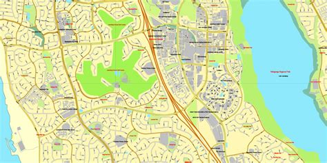 printable map perth city perth australia exact vector street city plan map v 3 09