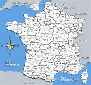 Infos sur : carte des departements francais 2016   Arts et Voyages