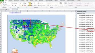 color coded us map in excel us map for powerpoint editable