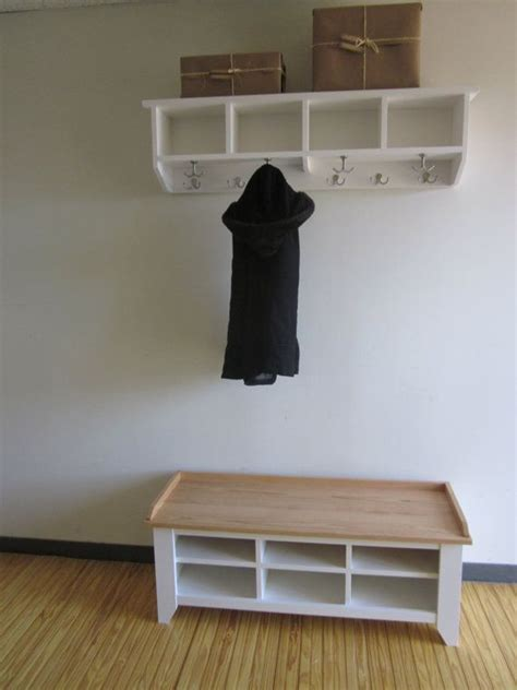 bench with cubbies and hooks 48 quot entryway bench and shelf with coat hooks coat rack