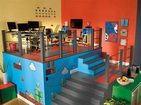 video game themed bedroom ideas 21 truly awesome video game room ideas u me and the kids