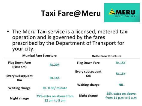 meru cab receipt template meru cabs india s finest taxi services