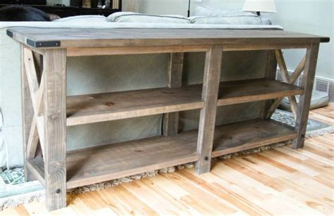 behind couch tables cool behind couch table diy build diy crafts pinterest