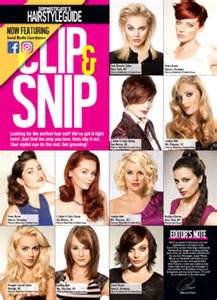 clip snip hair styles sophisticate s hairstyle guide 187 mini hair magazine