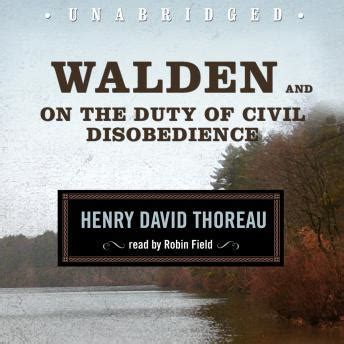 walden the book summary walden and on the duty of civil disobedience audio book by