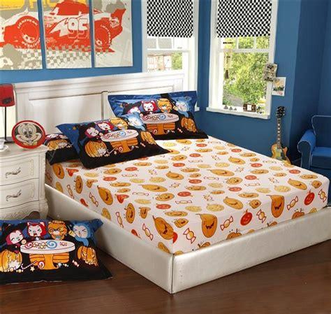 halloween bed sheets halloween bedding sets christmas gift children girls boys