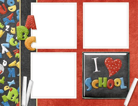 imagenes infantiles escolares marcos para fotos escolares infantiles imagui