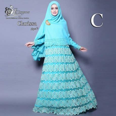 Klarisa Syari clarissa c baju muslim gamis modern