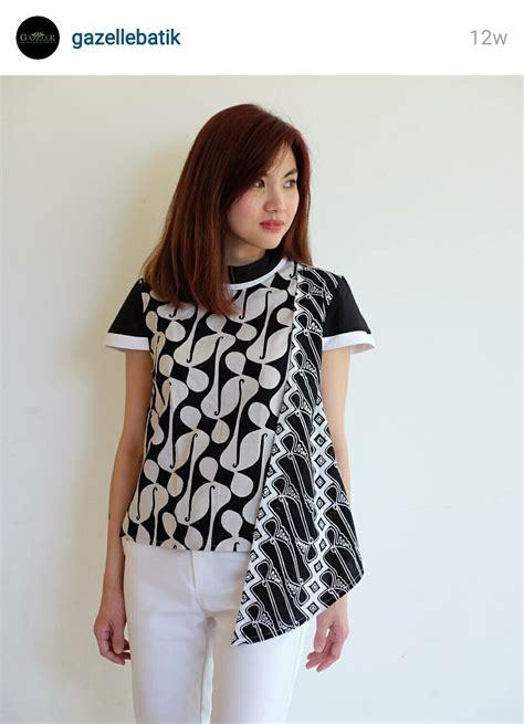 batik indonesia gaya busana model baju wanita