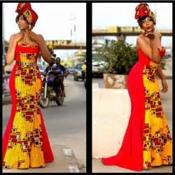 Amazing wedding guest long gowns lace ankara inspired