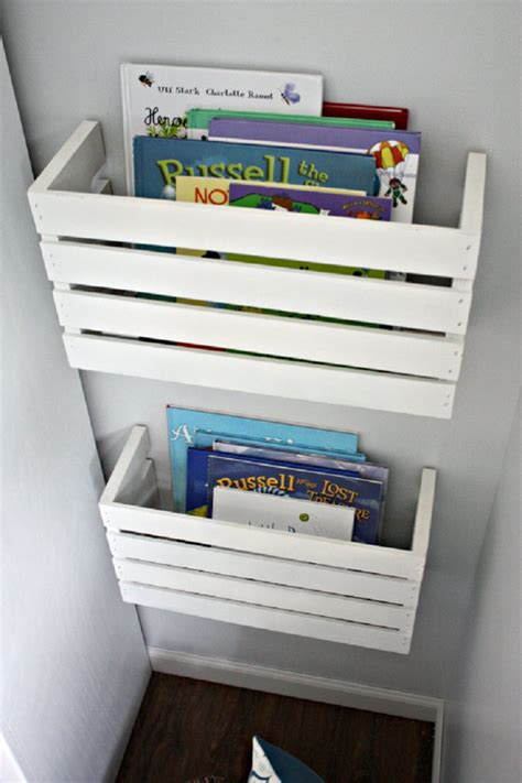 diy storage ideas top 10 diy kid s book storage ideas top inspired