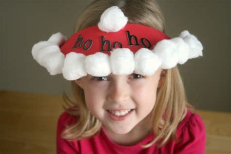 how to make christmas hats turkey jar toppers and silly santa hats make and takes