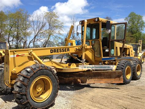 Dresser Heavy Equipment by Dresser A450e Motor Grader