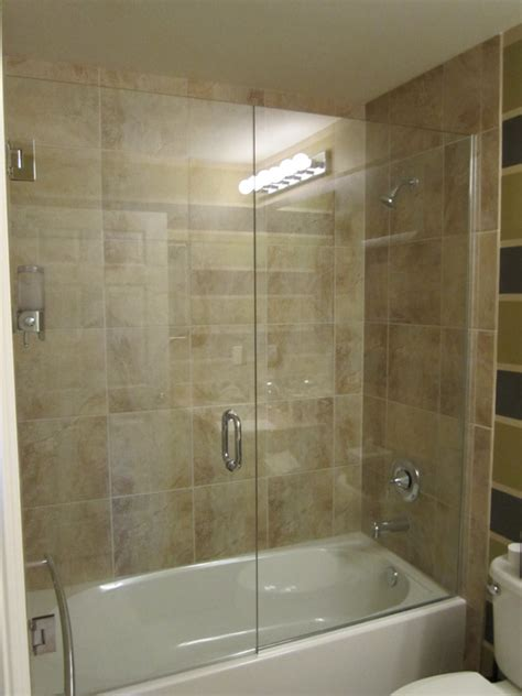bathtub doors trackless trackless bathtub shower doors useful reviews of shower stalls enclosure bathtubs