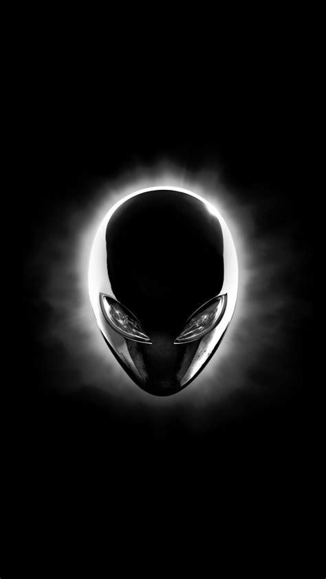 Alienware Eclipse Head (Black) 8K UHD Wallpaper