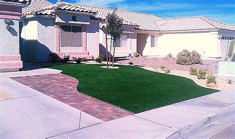 Landscaper Las Vegas Nv Desert Greenscapes Water Wise Grass And Landscaping In Las