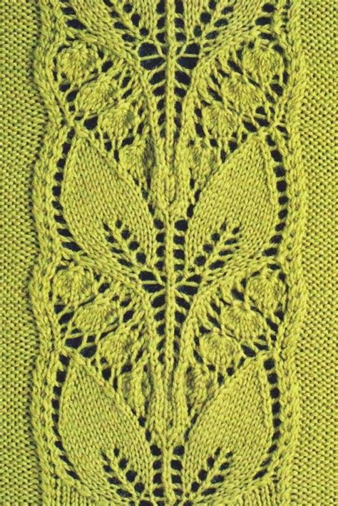 knit lace 25 best ideas about lace knitting stitches on