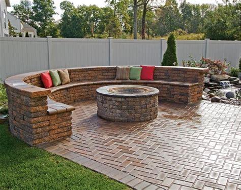 brick bench brick paver patio with bench seating wilmington de