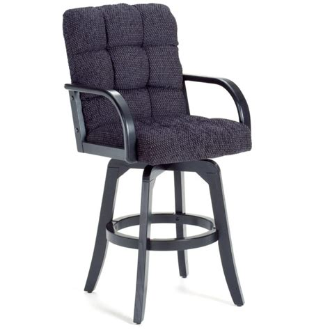 Padded Bar Stools With Backs And Arms by Stools Design Amusing Upholstered Swivel Counter Stools