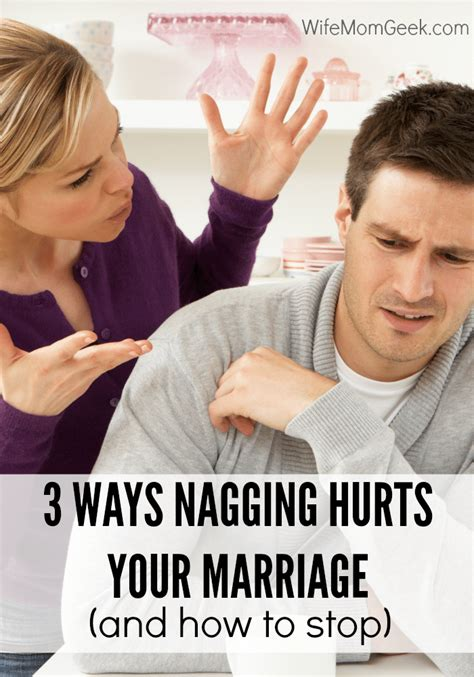 Nagging Girlfriend Meme - 3 ways nagging hurts your marriage and how to stop