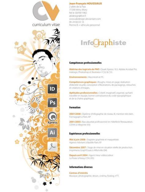 Curriculum Vitae Design by Top 57 Cv Design Originaux Et Insolites Et Curriculum