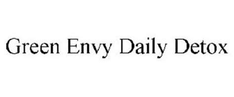 Green Envy Daily Detox Nutrition by Green Envy Daily Detox Trademark Of Agrolabs Inc Serial