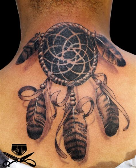 dream catcher tattoo neck meaning 30 neck tattoo designs for men