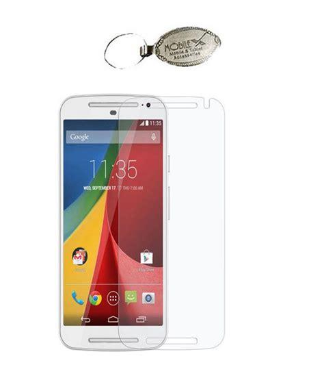 Titan Tempered Glass For Motorola G2 naivel tempered glass premium screen guard for motorola