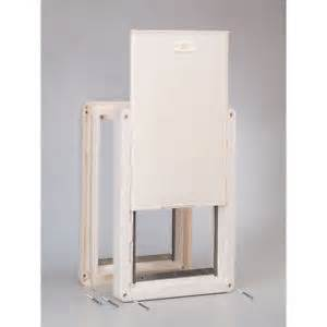 ideal ruff weather pet insulated door dual 2 flaps all
