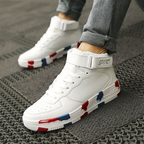 2015 summer sneakers high shoes hip hop shoes