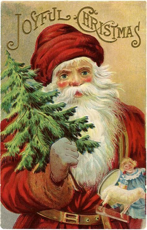 vintage christmas vintage christmas santa image wonderful the graphics