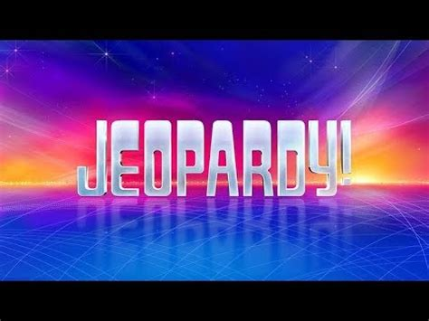 jeopardy theme music youtube jeopardy theme song 1 minute youtube