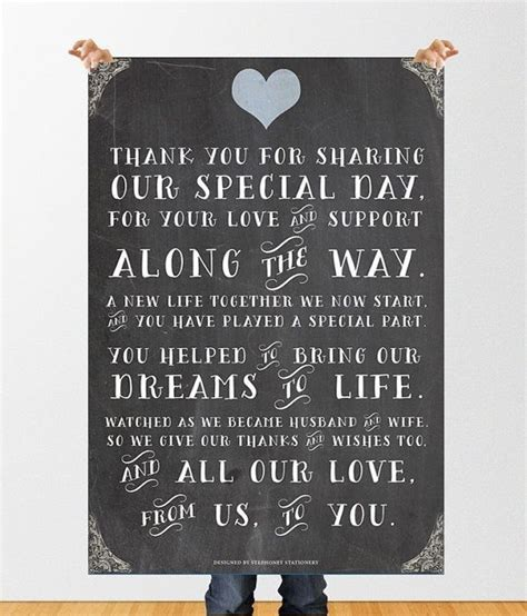 Wedding Quotes Thank You by Best 25 Wedding Thank You Ideas On Wedding