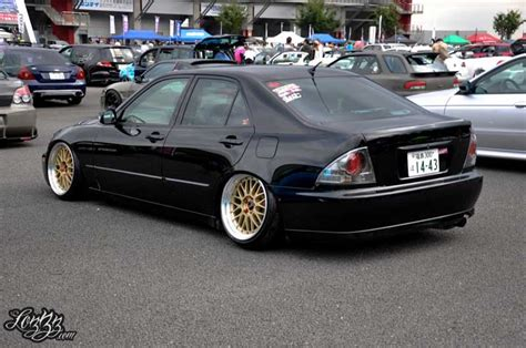 Toyota Altezza Lexus Is300 Slammed On Gold Bbs Lm