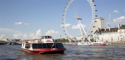 thames river boat cruise and london eye book a thames river cruise in london with city cruises