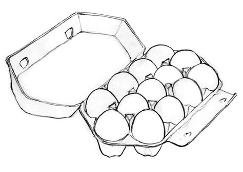 coloring page egg carton egg carton coloring page coloring pages
