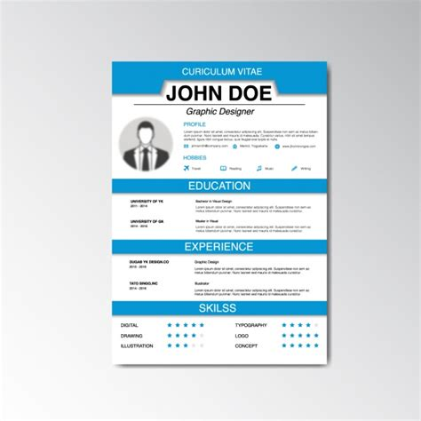 curriculum vitae design software curriculum vitae design vector free download