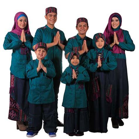 baju raya 2014 keluarga baju muslim untuk lebaran berhijab id