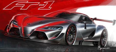 Toyota Vision Toyota Ft 1 Vision Gran Turismo Revealed